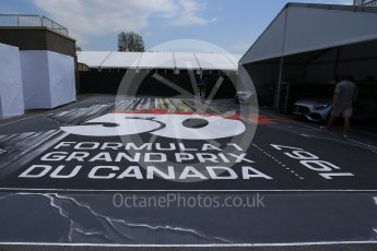World © Octane Photographic Ltd. Formula 1 - Canadian Grand Prix - Sunday Drivers Parade & Grid. 50 years of F1 in Canada. Circuit Gilles Villeneuve, Montreal, Canada. Sunday 11th June 2017. Digital Ref: 1856LB2D3343