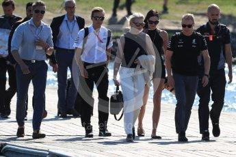 World © Octane Photographic Ltd. Formula 1 - Canadian Grand Prix - Sunday Paddock. Valtteri Bottas - Mercedes AMG Petronas F1 W08 EQ Energy+. Circuit Gilles Villeneuve, Montreal, Canada. Sunday 11th June 2017. Digital Ref: 1855LB1D7081