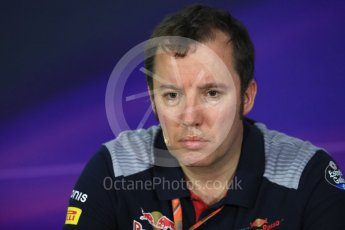 World © Octane Photographic Ltd. Formula 1 - Canadian Grand Prix - Friday FIA Team Personnel Press Conference. Jody Egginton - Head of Vehicle Performance. Circuit Gilles Villeneuve, Montreal, Canada. Friday 9th June 2017. Digital Ref: 1852LB1D4442