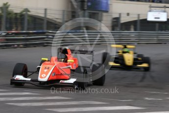 World © Octane Photographic Ltd. Formula 1 - Monaco Formula Renault Eurocup Practice. Rodrigo Pflucker – AVF and Luis Leeds - Josef Kaufmann Racing. Monaco, Monte Carlo. Thursday 25th May 2017. Digital Ref: