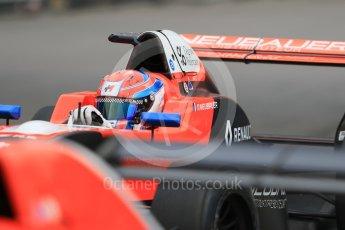 World © Octane Photographic Ltd. Formula 1 - Monaco Formula Renault Eurocup Practice. Thomas Neubauer – Tech 1 Racing. Monaco, Monte Carlo. Thursday 25th May 2017. Digital Ref: