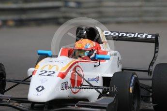 World © Octane Photographic Ltd. Formula 1 - Monaco Formula Renault Eurocup Practice. Jean-Baptiste Simmenauer – JD Motorsport. Monaco, Monte Carlo. Thursday 25th May 2017. Digital Ref: