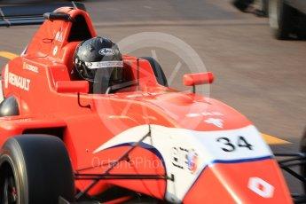 World © Octane Photographic Ltd. Formula 1 - Monaco Formula Renault Eurocup Qualifying. Ghislain Cordeel – Arden. Monaco, Monte Carlo. Friday 26th May 2017. Digital Ref: