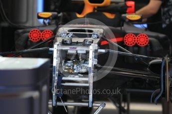World © Octane Photographic Ltd. Formula 1 - Monaco Grand Prix Setup. Red Bull Racing RB13. Monaco, Monte Carlo. Wednesday 24th May 2017. Digital Ref:
