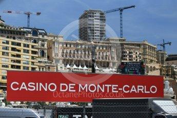 World © Octane Photographic Ltd. Formula 1 - Monaco Grand Prix Setup. Monaco, Monte Carlo. Wednesday 24th May 2017. Digital Ref: