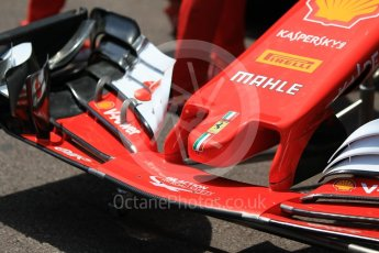 World © Octane Photographic Ltd. Formula 1 - Monaco Grand Prix Setup. Scuderia Ferrari SF70H. Monaco, Monte Carlo. Wednesday 24th May 2017. Digital Ref: