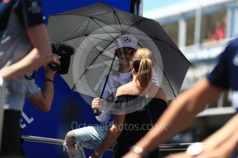 World © Octane Photographic Ltd. Formula 1 - Spanish Grand Prix Driver's Parade. Lewis Hamilton - Mercedes AMG Petronas F1 W08 EQ Energy+. Circuit de Barcelona - Catalunya, Spain. Sunday 14th May 2017. Digital Ref: 1824LB1D3657