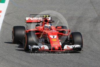 World © Octane Photographic Ltd. Formula 1 - Spanish Grand Prix Practice 1. Kimi Raikkonen - Scuderia Ferrari SF70H. Circuit de Barcelona - Catalunya, Spain. Friday 12th May 2017. Digital Ref: 1810CB1L7663