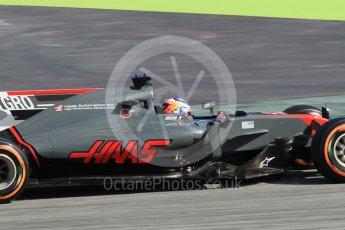 World © Octane Photographic Ltd. Formula 1 - Spanish Grand Prix Practice 1. Romain Grosjean - Haas F1 Team VF-17. Circuit de Barcelona - Catalunya, Spain. Friday 12th May 2017. Digital Ref: 1810CB1L7689