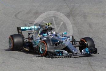 World © Octane Photographic Ltd. Formula 1 - Spanish Grand Prix Practice 1. Valtteri Bottas - Mercedes AMG Petronas F1 W08 EQ Energy+. Circuit de Barcelona - Catalunya, Spain. Friday 12th May 2017. Digital Ref: 1810CB1L7907