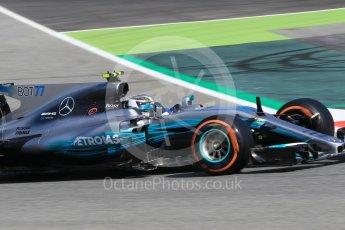 World © Octane Photographic Ltd. Formula 1 - Spanish Grand Prix Practice 1. Valtteri Bottas - Mercedes AMG Petronas F1 W08 EQ Energy+. Circuit de Barcelona - Catalunya, Spain. Friday 12th May 2017. Digital Ref: 1810CB1L7910