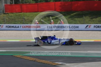 World © Octane Photographic Ltd. Formula 1 - Spanish Grand Prix - Practice 1. Marcus Ericsson – Sauber F1 Team C36. Circuit de Barcelona - Catalunya. Friday 12th May 2017. Digital Ref: 1810CB7D3928