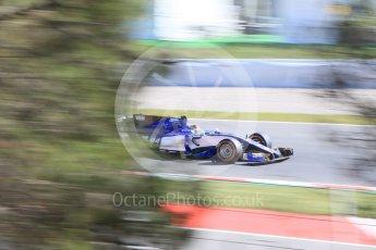 World © Octane Photographic Ltd. Formula 1 - Spanish Grand Prix - Practice 1. Marcus Ericsson – Sauber F1 Team C36. Circuit de Barcelona - Catalunya. Friday 12th May 2017. Digital Ref: 1810CB7D4211