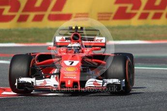 World © Octane Photographic Ltd. Formula 1 - Spanish Grand Prix - Practice 1. Kimi Raikkonen - Scuderia Ferrari SF70H. Circuit de Barcelona - Catalunya. Friday 12th May 2017. Digital Ref: 1810LB1D8989
