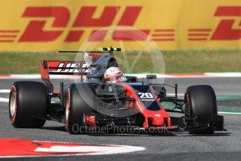 World © Octane Photographic Ltd. Formula 1 - Spanish Grand Prix - Practice 1. Kevin Magnussen - Haas F1 Team VF-17. Circuit de Barcelona - Catalunya. Friday 12th May 2017. Digital Ref: 1810LB1D9005