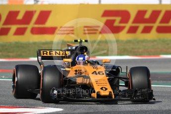 World © Octane Photographic Ltd. Formula 1 - Spanish Grand Prix - Practice 1. Sergey Sirotkin - Renault Sport F1 Team Third & Reserve Driver. Circuit de Barcelona - Catalunya. Friday 12th May 2017. Digital Ref: 1810LB1D9018