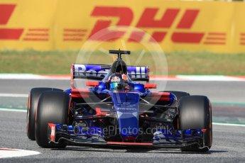 World © Octane Photographic Ltd. Formula 1 - Spanish Grand Prix - Practice 1. Daniil Kvyat - Scuderia Toro Rosso STR12. Circuit de Barcelona - Catalunya. Friday 12th May 2017. Digital Ref: 1810LB1D9045