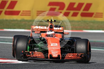World © Octane Photographic Ltd. Formula 1 - Spanish Grand Prix - Practice 1. Stoffel Vandoorne - McLaren Honda MCL32. Circuit de Barcelona - Catalunya. Friday 12th May 2017. Digital Ref: 1810LB1D9067