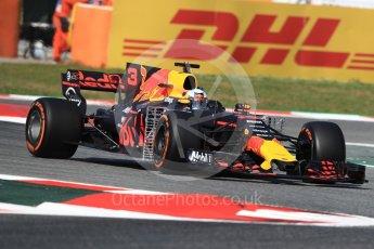World © Octane Photographic Ltd. Formula 1 - Spanish Grand Prix - Practice 1. Daniel Ricciardo - Red Bull Racing RB13. Circuit de Barcelona - Catalunya. Friday 12th May 2017. Digital Ref: 1810LB1D9077