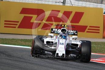 World © Octane Photographic Ltd. Formula 1 - Spanish Grand Prix - Practice 1. Lance Stroll - Williams Martini Racing FW40. Circuit de Barcelona - Catalunya. Friday 12th May 2017. Digital Ref: 1810LB1D9106