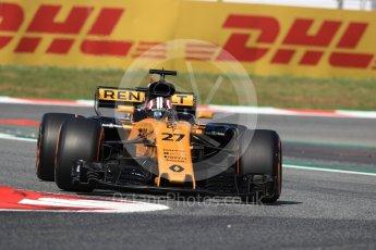 World © Octane Photographic Ltd. Formula 1 - Spanish Grand Prix Practice 1. Sergey Sirotkin - Renault Sport F1 Team Third & Reserve Driver. Circuit de Barcelona - Catalunya, Spain. Friday 12th May 2017. Digital Ref: 1810LB1D9145