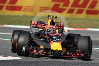 World © Octane Photographic Ltd. Formula 1 - Spanish Grand Prix Practice 1. Max Verstappen - Red Bull Racing RB13. Circuit de Barcelona - Catalunya, Spain. Friday 12th May 2017. Digital Ref: 1810LB1D9279