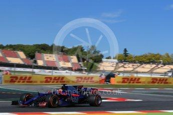 World © Octane Photographic Ltd. Formula 1 - Spanish Grand Prix Practice 1. Daniil Kvyat - Scuderia Toro Rosso STR12. Circuit de Barcelona - Catalunya, Spain. Friday 12th May 2017. Digital Ref: 1810LB2D7377