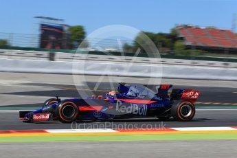 World © Octane Photographic Ltd. Formula 1 - Spanish Grand Prix Practice 1. Daniil Kvyat - Scuderia Toro Rosso STR12. Circuit de Barcelona - Catalunya, Spain. Friday 12th May 2017. Digital Ref: 1810LB2D7409