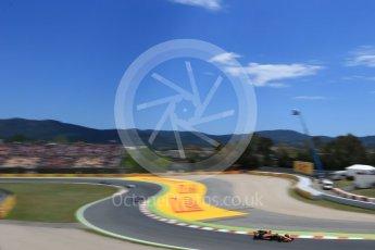 World © Octane Photographic Ltd. Formula 1 - Spanish Grand Prix Race. Stoffel Vandoorne - McLaren Honda MCL32. Circuit de Barcelona - Catalunya, Spain. Sunday 14th May 2017. Digital Ref:1825LB2D9092