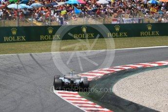 World © Octane Photographic Ltd. Formula 1 - Spanish Grand Prix Race. Valtteri Bottas - Mercedes AMG Petronas F1 W08 EQ Energy+. Circuit de Barcelona - Catalunya, Spain. Sunday 14th May 2017. Digital Ref: 1825LB2D9246