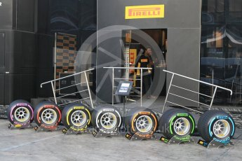 World © Octane Photographic Ltd. Formula 1 winter test 1, Pirelli 2017 specification tyres,Circuit de Barcelona-Catalunya. Monday 27th February 2017. Digital Ref :1780CB1D2552