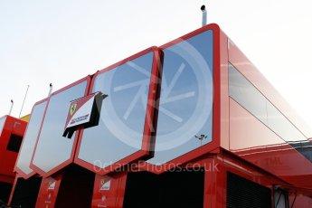 World © Octane Photographic Ltd. Formula 1 winter test 1, Scuderia Ferrari. Circuit de Barcelona-Catalunya. Monday 27th February 2017. Digital Ref :1780CB1D2555