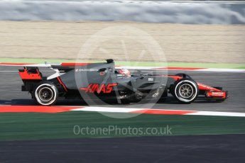 World © Octane Photographic Ltd. Formula 1 winter test 1, Haas F1 Team VF-17 – Kevin Magnussen, Circuit de Barcelona-Catalunya. Monday 27th February 2017. Digital Ref :1780CB1D2628