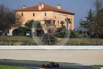 World © Octane Photographic Ltd. Formula 1 - Winter Test 1. Nico Hulkenberg - Renault Sport F1 Team R.S.17. Circuit de Barcelona-Catalunya. Monday 27th February 2017. Digital Ref :1780CB1D3003