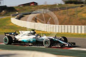 World © Octane Photographic Ltd. Formula 1 - Winter Test 1. Lewis Hamilton - Mercedes AMG Petronas F1 W08 EQ Energy+. Circuit de Barcelona-Catalunya. Monday 27th February 2017. Digital Ref :1780CB1D3070