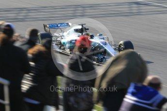 World © Octane Photographic Ltd. Formula 1 - Winter Test 1. Lewis Hamilton - Mercedes AMG Petronas F1 W08 EQ Energy+. Circuit de Barcelona-Catalunya. Monday 27th February 2017. Digital Ref :1780CB1D3145