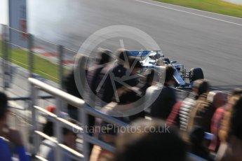 World © Octane Photographic Ltd. Formula 1 - Winter Test 1. Lewis Hamilton - Mercedes AMG Petronas F1 W08 EQ Energy+. Circuit de Barcelona-Catalunya. Monday 27th February 2017. Digital Ref :1780CB1D3170