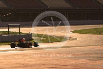 World © Octane Photographic Ltd. Formula 1 - Winter Test 1. Daniel Ricciardo - Red Bull Racing RB13. Circuit de Barcelona-Catalunya. Monday 27th February 2017. Digital Ref :1780CB1D3357