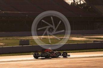 World © Octane Photographic Ltd. Formula 1 - Winter Test 1. Daniel Ricciardo - Red Bull Racing RB13. Circuit de Barcelona-Catalunya. Monday 27th February 2017. Digital Ref :1780CB1D3394