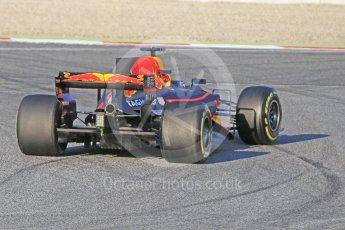 World © Octane Photographic Ltd. Formula 1 - Winter Test 1. Daniel Ricciardo - Red Bull Racing RB13. Circuit de Barcelona-Catalunya. Monday 27th February 2017. Digital Ref : 1780CB1D3471