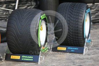 World © Octane Photographic Ltd. Formula 1 winter test 1, Pirelli 2017 specification tyres,Circuit de Barcelona-Catalunya. Monday 27th February 2017. Digital Ref :1780CB1D5977