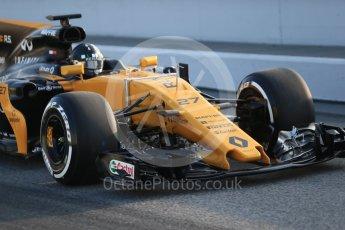 World © Octane Photographic Ltd. Formula 1 winter test 1, Renault Sport F1 Team R.S.17 – Nico Hulkenberg, Circuit de Barcelona-Catalunya. Monday 27th February 2017. Digital Ref :1780CB1D6017