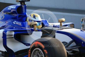 World © Octane Photographic Ltd.. Formula 1 winter test 1, Sauber F1 Team C36 – Marcus Ericsson ,Circuit de Barcelona-Catalunya. Monday 27th February 2017. Digital Ref :1780CB1D6033