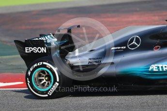 World © Octane Photographic Ltd. Formula 1 winter test 1, Mercedes AMG Petronas F1 W08 EQ Energy+ - Valtteri Bottas. Circuit de Barcelona-Catalunya. Monday 27th February 2017. Digital Ref :1780CB1D6276
