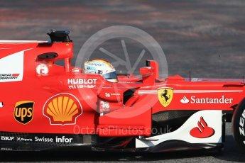 World © Octane Photographic Ltd. Formula 1 winter test 1, Scuderia Ferrari SF70H – Sebastian Vettel. Circuit de Barcelona-Catalunya. Monday 27th February 2017. Digital Ref :1780CB1D6285