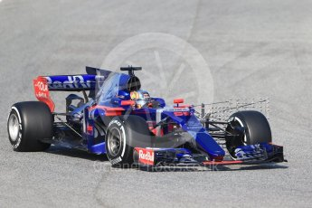 World © Octane Photographic Ltd. Formula 1 winter test 1, Scuderia Toro Rosso STR12 – Carlos Sainz,Circuit de Barcelona-Catalunya. Monday 27th February 2017. Digital Ref :1780CB1D6543