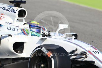 World © Octane Photographic Ltd. Formula 1 winter test 1, Williams martini Racing FW40 – Felipe Massa. Circuit de Barcelona-Catalunya. Monday 27th February 2017. Digital Ref :1780CB1D6572
