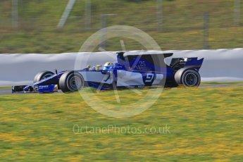World © Octane Photographic Ltd. Formula 1 - Winter Test 1. Marcus Ericsson - Sauber F1 Team C36. Circuit de Barcelona-Catalunya. Monday 27th February 2017. Digital Ref :1780CB1D6752