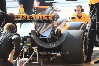 World © Octane Photographic Ltd. Formula 1 - Winter Test 1. Nico Hulkenberg - Renault Sport F1 Team R.S.17. Circuit de Barcelona-Catalunya. Monday 27th February 2017. Digital Ref : 1780LB1D8346