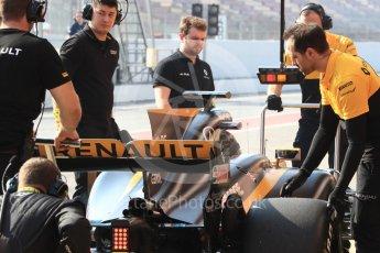 World © Octane Photographic Ltd. Formula 1 - Winter Test 1. Nico Hulkenberg - Renault Sport F1 Team R.S.17. Circuit de Barcelona-Catalunya. Monday 27th February 2017. Digital Ref : 1780LB1D8353